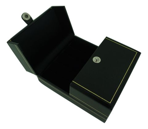 LEATHERETTE DOUBLE DOOR BOXES