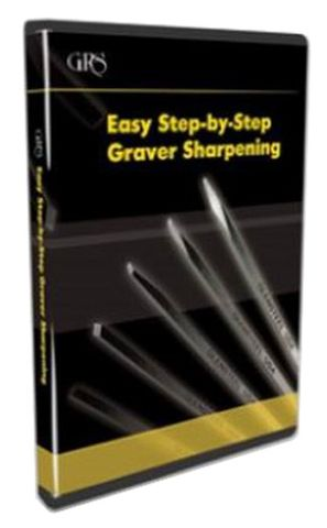 DVD - Easy Step-by-Step Graver Sharpening