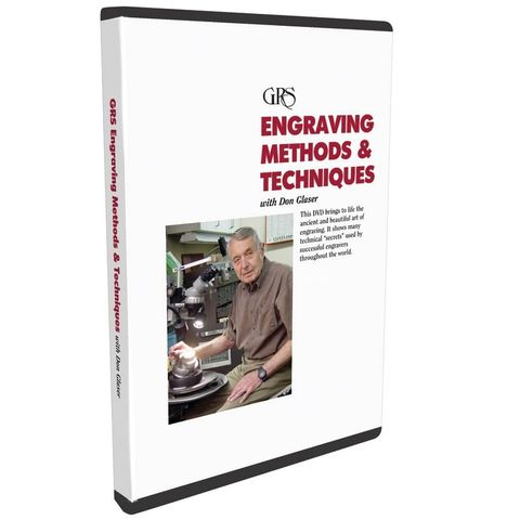 DVD - Engraving Methods & Techniques