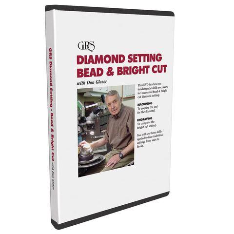 DVD - Dia Setting Bead & Bright Cut by Don Glasser