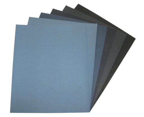 ABRASIVE PAPERS - MATADOR BLUE