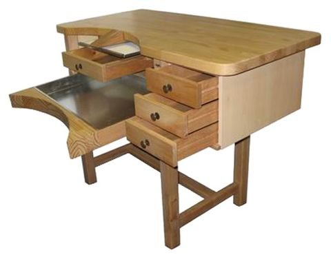 Workbench - MPF Wood Top 3 Drawer