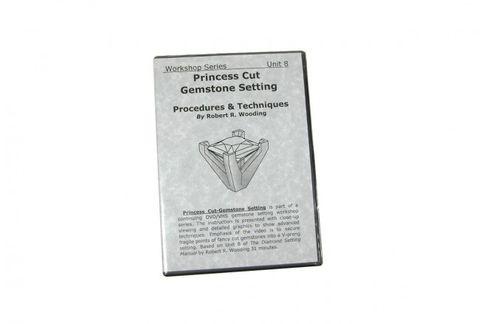 DVD - Princess Cut Gemstone Setting Robert Wooding