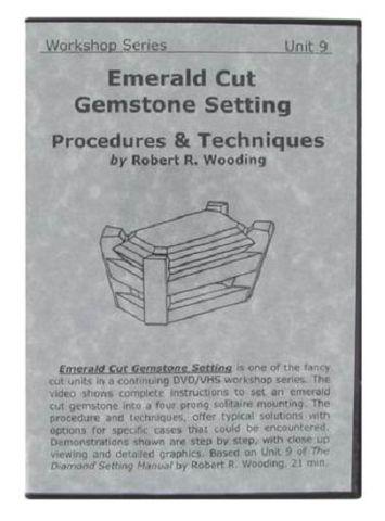 DVD - Emerald Cut Gemstone Setting Robert Wooding