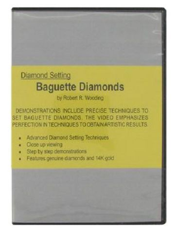 DVD - Diamond Setting Baguettes by Robert Wooding