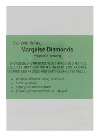 DVD - Diamond Setting Marquise Diamonds Wooding