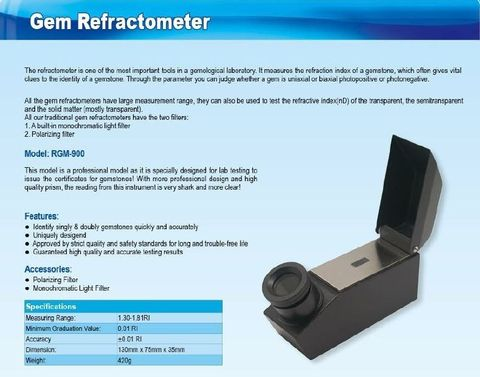 Gem Refractometer High Quality