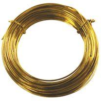 Brass Wire - 1.0mm Round x 10 Metres