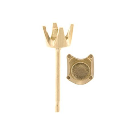 HEAVY 4 CLAW STUDS - GOLD