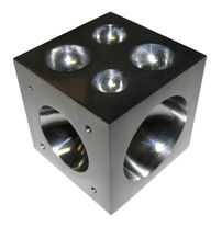 Dapping Block - Debut Steel 3mm to 44mm