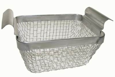 STAINLESS STEEL 2QT WIRE BASKET