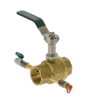 HVAC WITH TEST POINT AND MINI BALL VALVE
