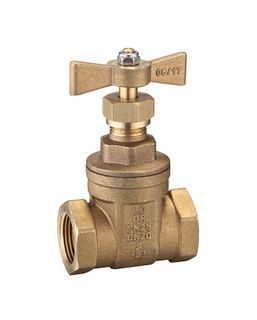 GATE VALVES WATERMARKED T HANDLE