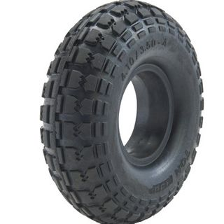With 410/350-4 Solid PU Tyre