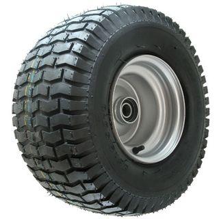 With 20/10-8 4PR Turf Tyre