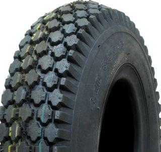 With 410/350-4 4PR Diamond Tyre