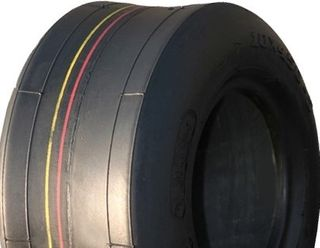 With 9/350-4 Solid Smooth Tyre