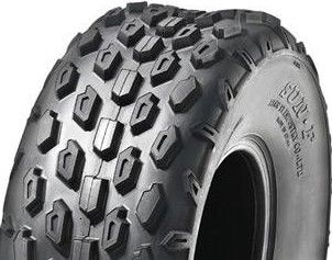 With 19/7-8 2PR Knobbly Tyre