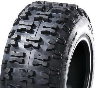 With 13/500-6 2PR Knobbly Tyre