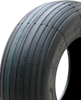 With 350-6 4PR Ribbed Barrow Tyre