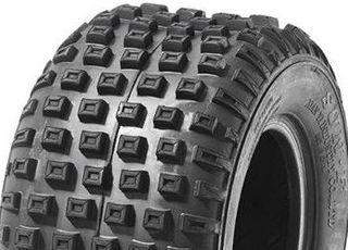 With 145/70-6 6PR Knobbly Tyre