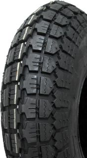 With 400-6 Solid Block Tyre