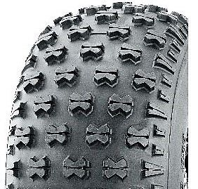 With 20/10-8 4PR Knobbly Tyre