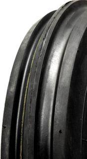 With 400-8 4PR 3-Rib Tyre
