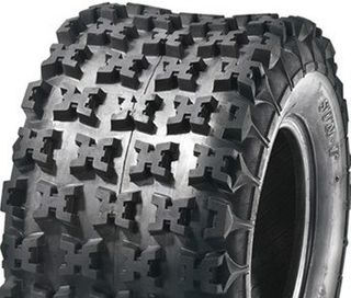 With 20/11-8 6PR Knobbly Tyre