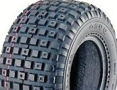 With 25/12-9 2PR Knobbly Tyre