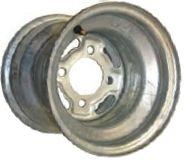 """9""""x8.50"""" Galvanised Rim, 4/4"""" (101.6mm) PCD, 71mm Bore, ET-38 (9""""x8.00"""")"""