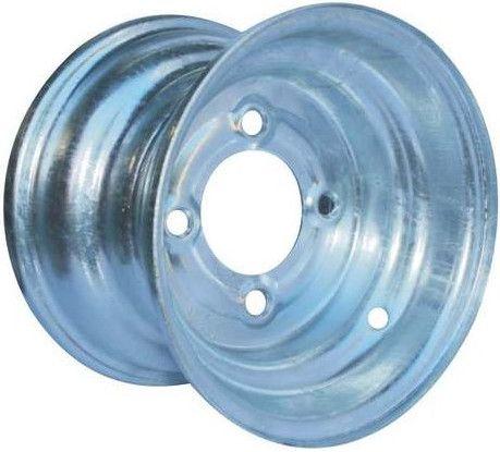 """9""""x8.50"""" (9""""x8.00"""") Galvanised Rim, 4/4"""" PCD, 71mm Bore, Centred"""