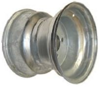 """10""""x8.00"""" Galvanised Rim, 4/4"""" (4/101.6mm) PCD, 71mm Bore, ET+6"""