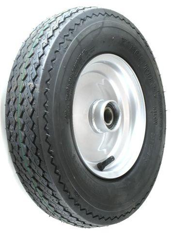 "ASSEMBLY - 8""x2.50"" Steel Rim, 480/400-8 8PR HS Trailer Tyre, 25mm HS Bearings"