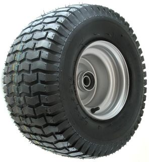 "ASSEMBLY - 8""x7.00"" Steel Rim, 18/950-8 4PR Turf Tyre, 25mm HS Bearings"