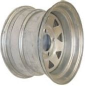 "12""x7.00"" Galvanised Rim, 4/4"" (4/101.6mm) PCD, 65mm Bore, ET0"