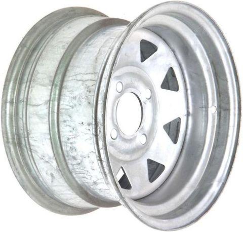 """12""""x7.00"""" Galvanised Rim (Rear ATV), 4/4½"""" (114.3mm) PCD, 65mm Bore, ET0"""
