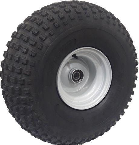 "ASSEMBLY - 8""x7.00"" Galvanised Rim, 22/11-8 4PR P323 ATV Tyre, 25mm HS Bearings"