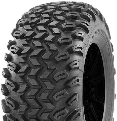 """ASSEMBLY - 8""""x7.00"""" Galv Rim, 22/11-8 4PR P334 Knobbly ATV Tyre, 25mm Keyed Bush"""