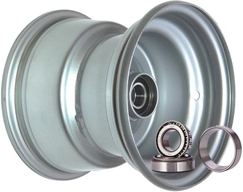 "8""x7.00"" Steel Rim, 52mm Bore, 85mm Hub Length, 52mm x 25mm High Speed TaperBrgs"
