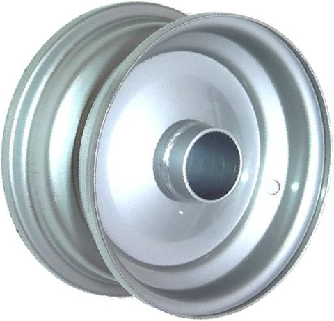 "8""x3.75"" Steel Rim, 52mm Bore, 85mm Hub Length, NO BRGS/BUSHES"