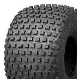 "ASSEMBLY - 8""x7.00"" Galvanised Rim, 22/11-8 4PR P323 ATV Tyre, NO BRGS OR BUSHES"