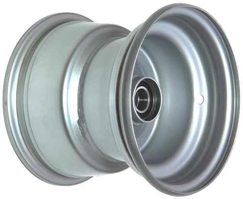 "8""x7.00"" Steel Rim, 52mm Bore, 85mm Hub Length, 52mm x 20mm High Speed Bearings"