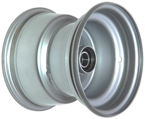 "8""x7.00"" Steel Rim, 52mm Bore, 85mm Hub Length, 52mm x 1"" High Speed Bearings"