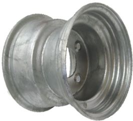 """8""""x7.00"""" Galvanised Rim, 5/4½"""" (5/114.3mm) PCD, 71mm Bore, ET0"""
