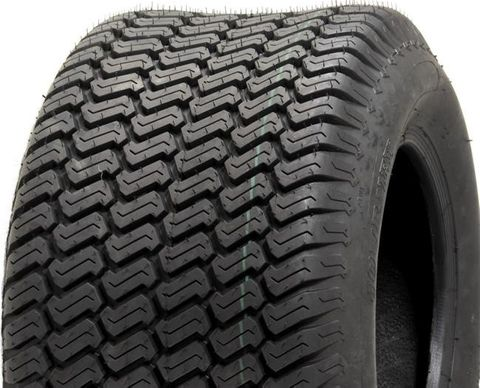 "ASSEMBLY - 8""x7.00"" Galv Rim, 4/4"" PCD, 20/10-8 6PR P332 S-Block Turf Tyre"