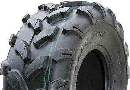 """ASSEMBLY - 8""""x7.00"""" Galv Rim, 4/4"""" PCD, 20/10-8 6PR A003 ATV Tyre"""