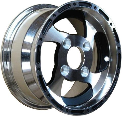 "12""x6.00"" Alloy Rim (Front), 4/110mm, 70mm Bore, ET+50"