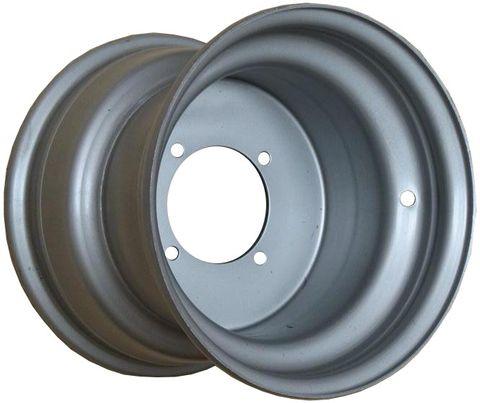 """10""""x8.00"""" Steel Rim, 4/110mm PCD, 90mm Bore, ET+8, ATV Rim"""
