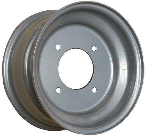 "10""x5.00"" Steel ATV Rim, 4/144mm PCD, -12.7mm Offset [3+2] Valve hole 3"" side"